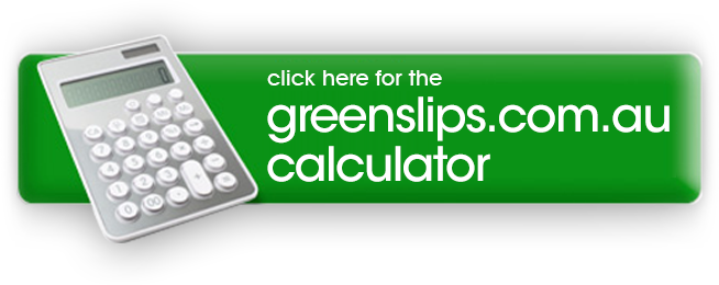 Open Greenslips Calculator